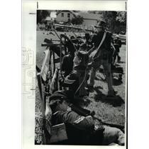 1987 Press Photo Re enactment of the Civil War - cva97763