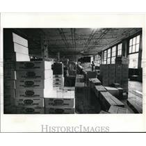 Press Photo Revco's single floor warehouse correspond to merchandise grouping
