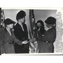 1939 Wire Photo Mrs Frederick Brooke, Mrs Franklin Roosevelt & Mrs H Hoover
