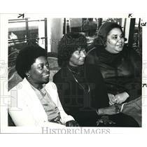 1983 Press Photo C.J Prentiss, Una Keeron and Barbara Boyd - cva77720