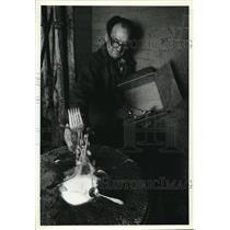1981 Press Photo Silver melting - cva78589