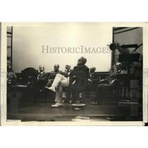 1922 Press Photo Pres. Harding presiding over annual government business meeting