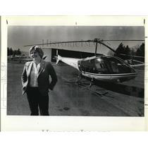 1979 Press Photo Nancy Mullen, elected secretary of International Whirly-Girls
