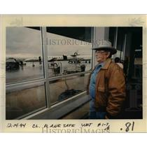 1994 Press Photo Portland International Airport - orb36391