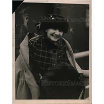 1919 Press Photo Mrs Jacqueline Clameneaue Daughter of French Premier