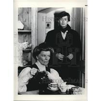 Press Photo Katherine Hepburn American Veteran Film Actress. - orx01309