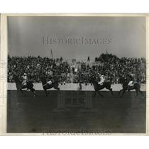 1929 Press Photo British -India at polo at Westbury Long Island NY - nes41244