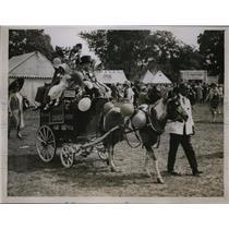 1929 Press Photo Children's Corner Italia Conti's Pupils at Theatrical Garden Pa