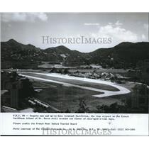 1989 Press Photo Terminal facilities on St Barts - orb09026