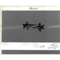 1995 Press Photo Portland Rose Festival Airshow - orb36135