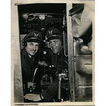 1949 Press Photo Captain E Hamilton Lee & son Captain Robert E Lee - nex98639