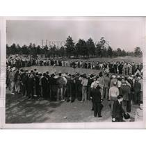 1937 Press Photo Paul Runyan, Harry Cooper, Henry Picard North & South golf