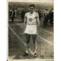 1926 Press Photo Kenneth Kennedy of Illinos National AAU quartermile in 48.3