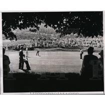 1938 Press Photo Paul Runyan, Sam Snead in PGA tournament at Shawnee PA