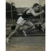 1935 Press Photo George Anderson University of California sprinter - nes42648