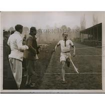 1927 Press Photo HM O'Connor Oxford runner at Inter University Relays at Oxford