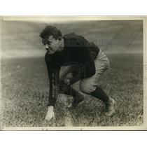 1929 Press Photo Harvard University football star George Crawford