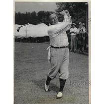 1931 Press Photo Arthur Yates defeats Cary Bellew 6-4 in Amateur Championship