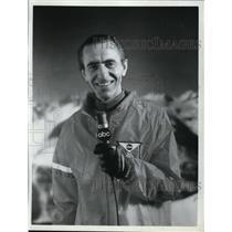 1968 Press Photo Chris Schenkel ABC Sports commentator - nes43213