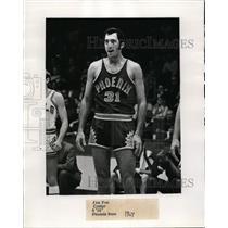 1969 Press Photo Phoenix Suns basketball center Jim Fox - nes43349 - nes43349