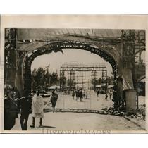1930 Press Photo Addis Ababa preps for coronation of Emperor Haile Selassie I