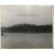 1930 Press Photo Columbia University crew vs US Naval Academy at Annapolis