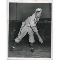 1944 Press Photo St Louis Browns Pitcher Nelson Potter - cvs01495