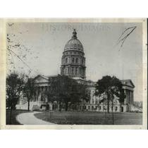 1926 Press Photo Capitol Building in Topeka KS - neb63168