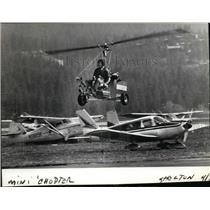 1983 Press Photo Gynocopter also known as Autogyno  - spx03199