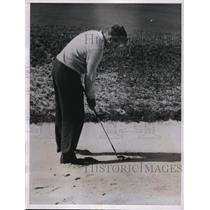 1937 Press Photo T Suffern Tailer Jr wins Mid Ocean Invitation Golf in Bermuda
