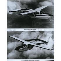1976 Press Photo Cessna Skymaster and Cessna Pressurized Skymaster - spx03881