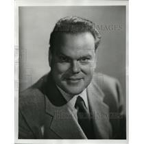 1951 Press Photo Tommy Bartlett of Welcome Travelers Program - cvp78142