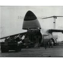 1971 Press Photo C5 Galaxy Cargo airplane - spx03613