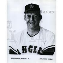 1968 Press Photo Bob Rodgers, Catcher for California Angels - cvs03444