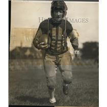 1929 Press Photo Donald Red Martin captain & QB of Ripon College football