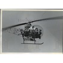 1982 Press Photo Chopper Helicopter - spx04402