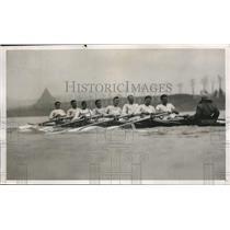 1932 Press Photo Cambridge crew D Haig-Thomas, KM Bayne, TG Askwith - nes45201