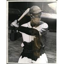1940 Press Photo Frank Secory of the Detroit Tigers team