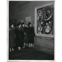 1940 Pablo Picasso The Girl Before a Mirror Cleveland Museum of Art Press Photo
