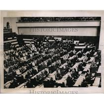 1937 Press Photo 1st Meeting of The League of Nations Assembly in Geneva