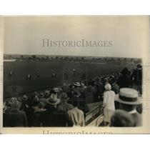 1927 Press Photo National Polo tournament at Westbury LI NY Big Four match