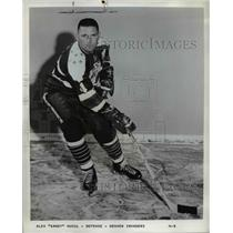 "Undated Press Photo Alex ""Sandy"" Hucul, Defenseman for Denver Invaders."