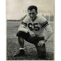 1947 Press Photo Jack Guyot Pacific Lutheran fullback - ors01133