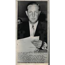 1967 Press Photo Pete Rozelle Selected Commissioner Of National Football League