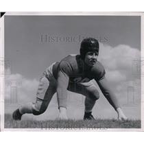 1946 Press Photo Carl Faller Indiana guard Newark O - nes15559