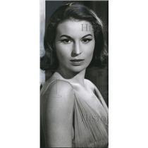 1955 Press Photo Silvana Mangano Italian Star  - orx00280