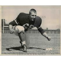 1962 Press Photo Marv Harris Stanford Football Guard  - ors00419