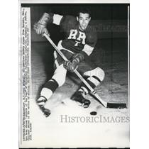 1958 Press Photo Paul Midghall All American hockey player - nes31424