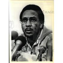 1979 Press Photo Lloyd Neal, best 3rd round draft pick Harry Glickman, Portland