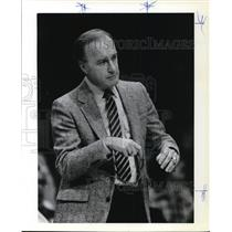 1982 Press Photo Jack McKinney, Indiana Pacer coach. - ora55669